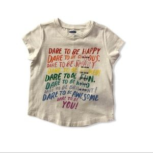 NWT Old Navy Jersey Graphic Tee